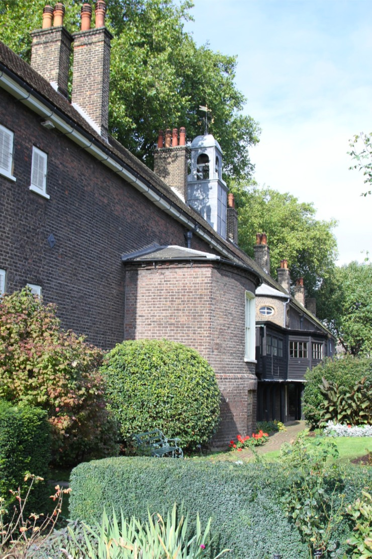 Gardens at the Geffrye Museum, London, England