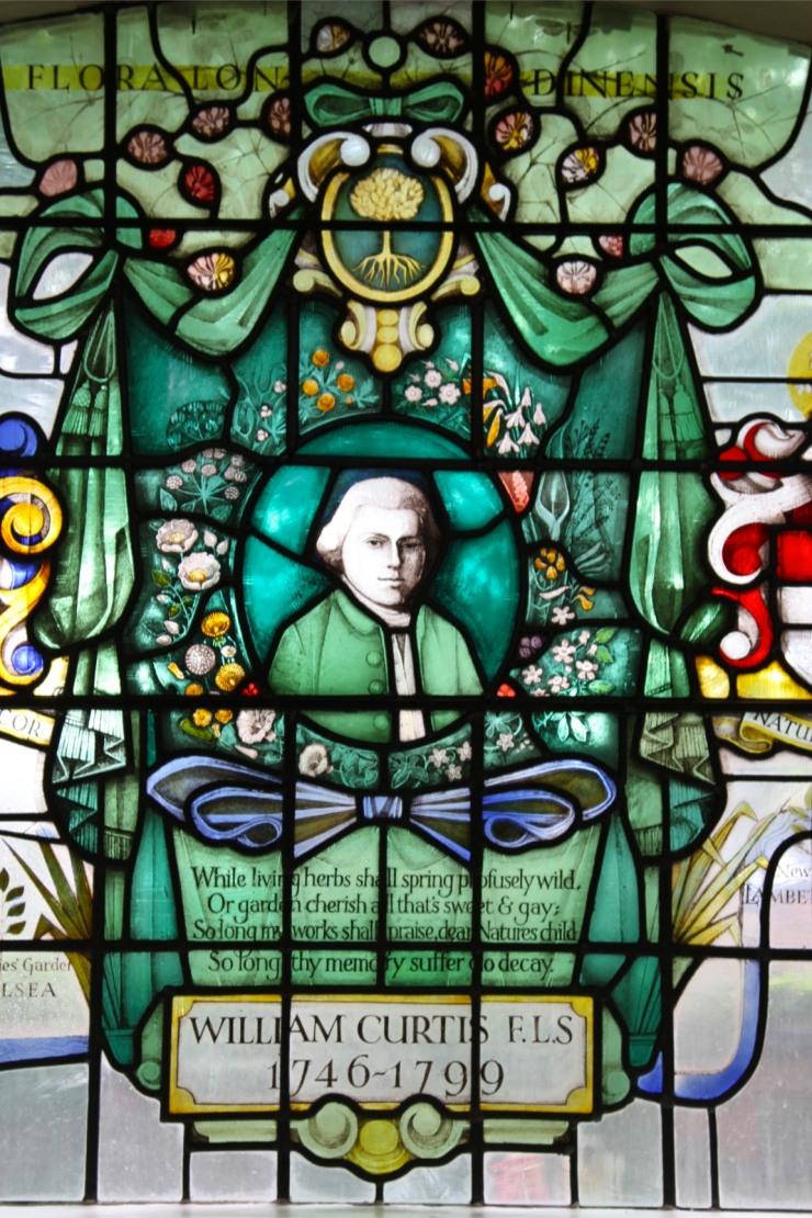 William Curtis window, St. Mary's Church, Battersea, London, England
