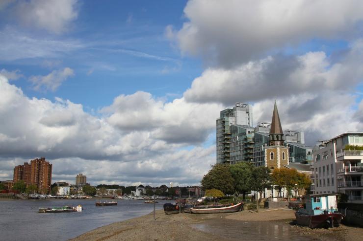 St. Mary's Church, Battersea, London, England