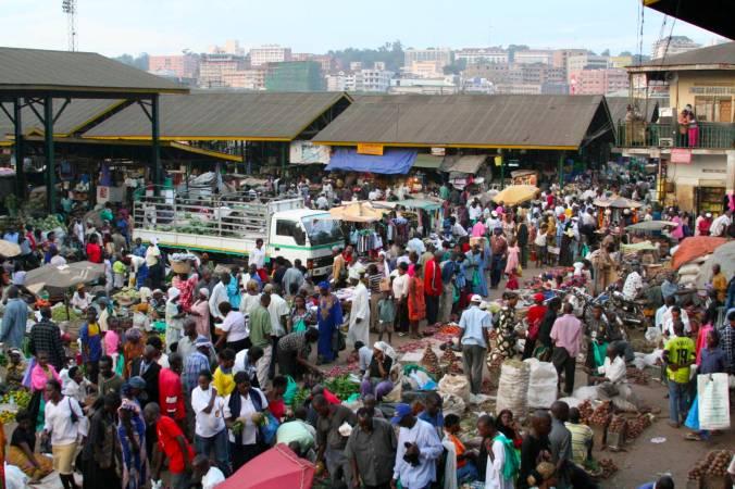 Owino Market, Kampala, Uganda, Africa