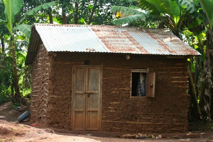 House, Kibale Forest National Park, Uganda, Africa