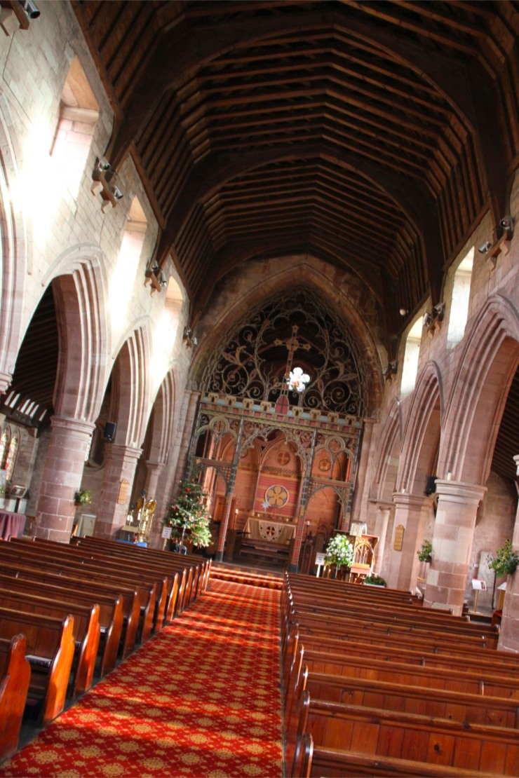 St. Bees Priory, St. Bees, Cumbria, England