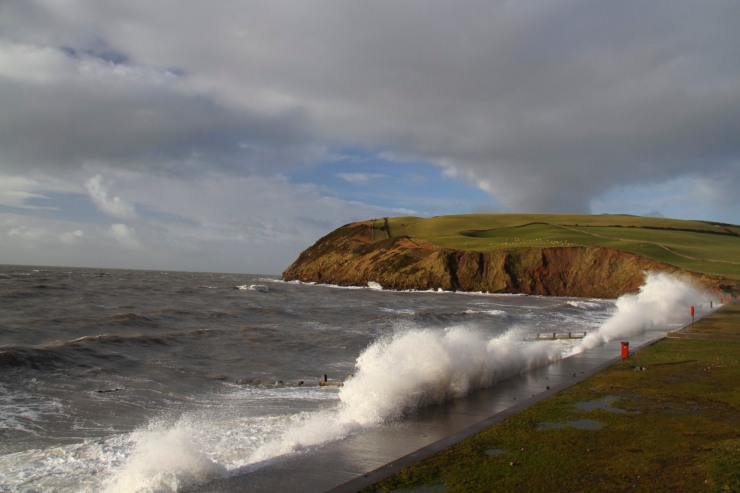 St. Bees Head, St. Bees Priory, Cumbria, England