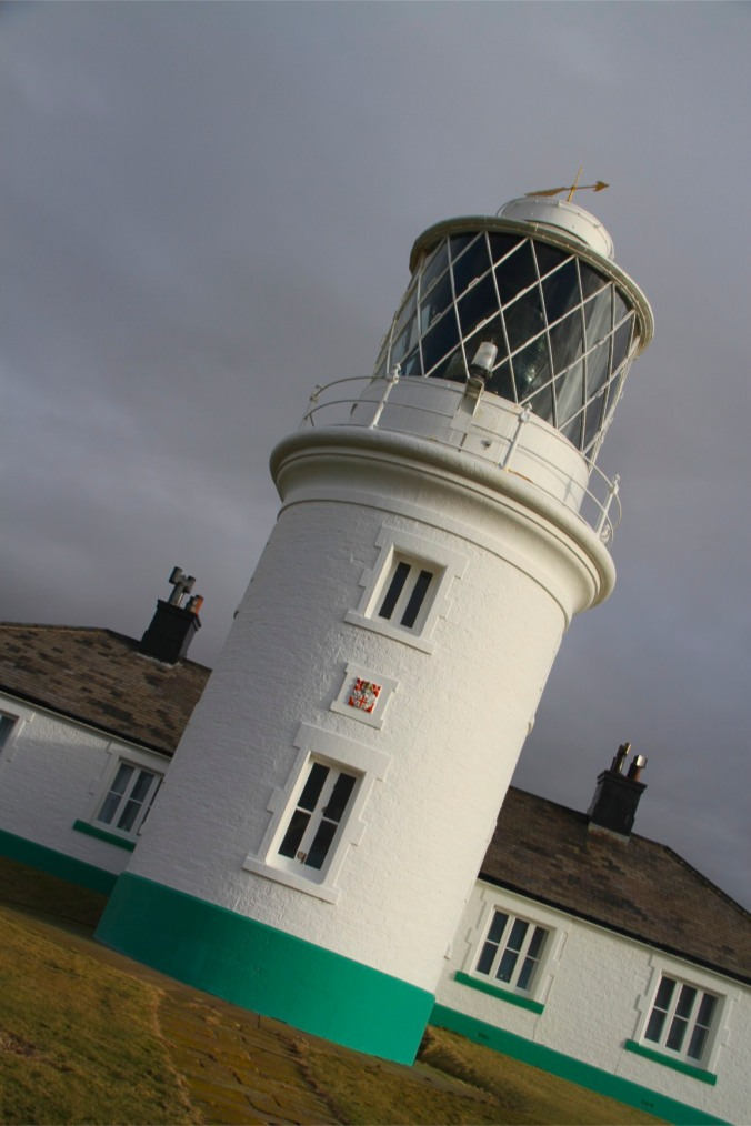 St. Bees Lighthouse, Cumbrian Heritage Coast, Cumbria, England