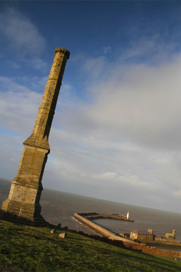 Candlestick Chimney, Whitehaven Harbour, Cumbria, England