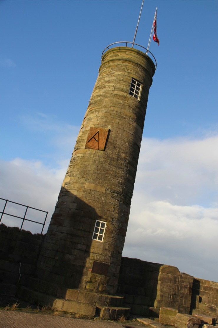18th Century watchtower, Whitehaven Harbour, Cumbria, England