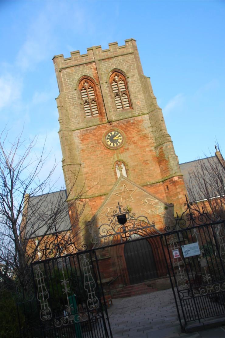 St.Nicholas' Church, Whitehaven Harbour, Cumbria, England