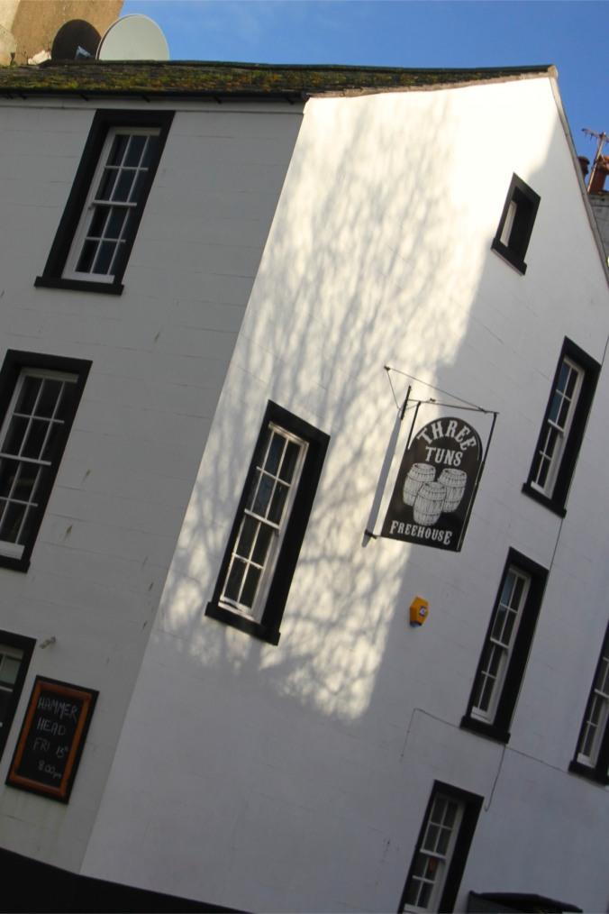 Pub in Georgian building, Whitehaven, Cumbria, England