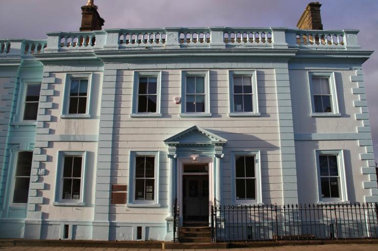 Georgian building, Whitehaven, Cumbria, England