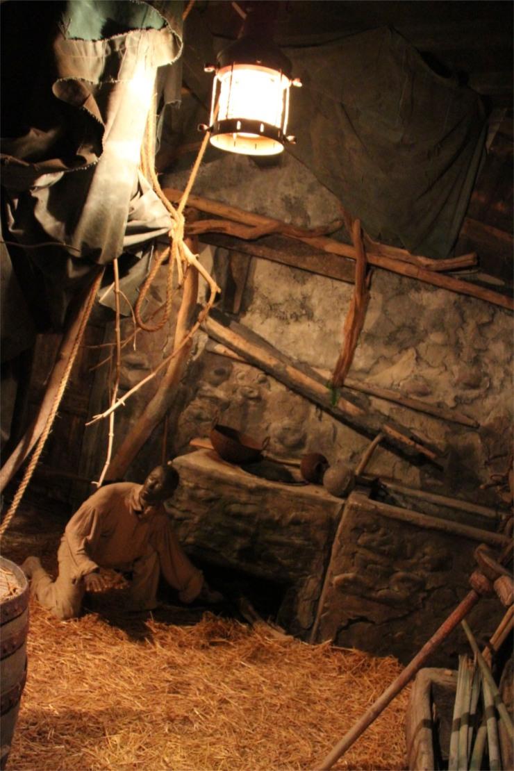 Slavery exhibit, The Rum Story, Whitehaven, Cumbria, England