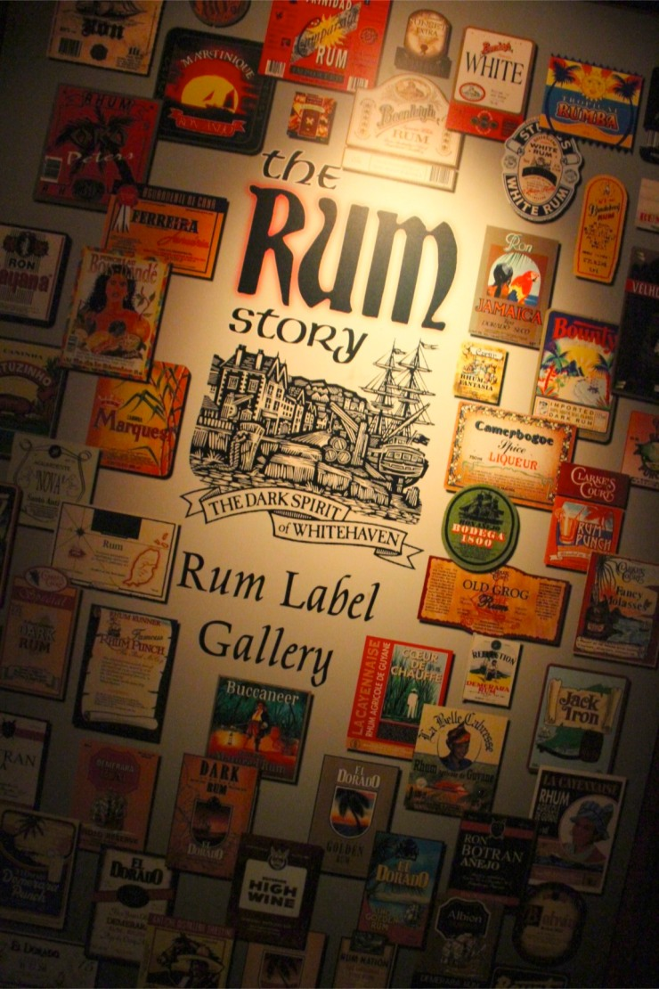 The Rum Story, Whitehaven, Cumbria, England