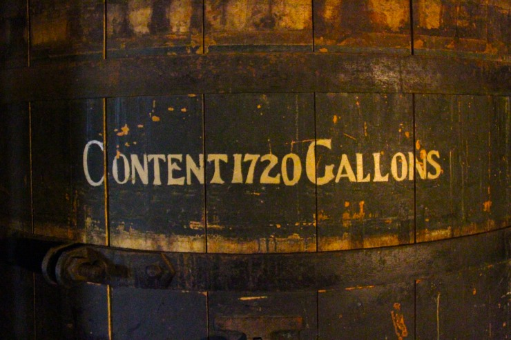 Giant barrel, The Rum Story, Whitehaven, Cumbria, England