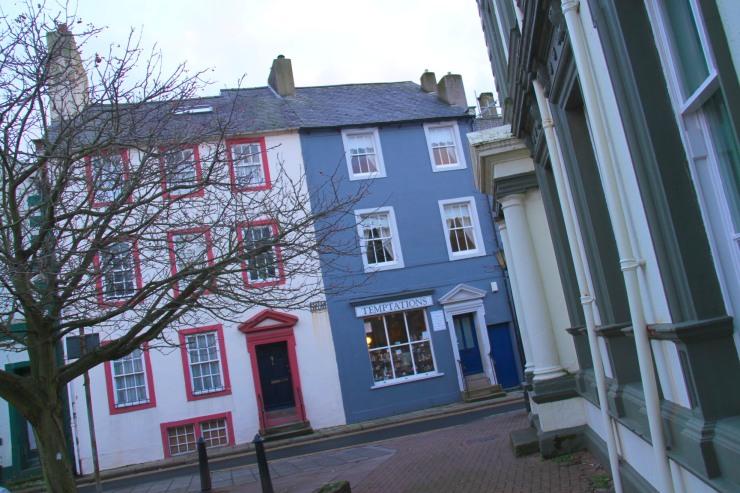 Georgian architecture, Whitehaven, Cumbria, England