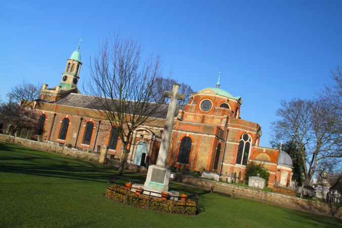 St. Anne's Church, Kew, London, England