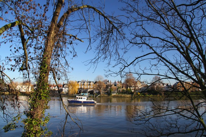 River Thames near Kew, London, England