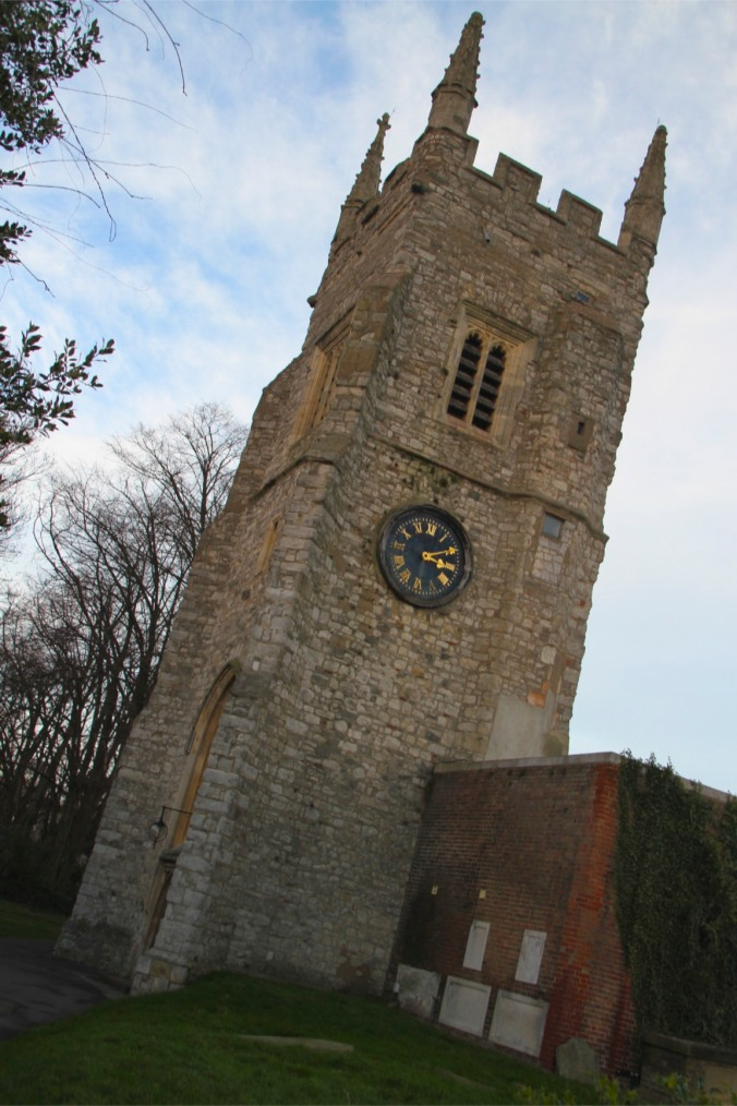 All Saints Church in Isleworth, London, England