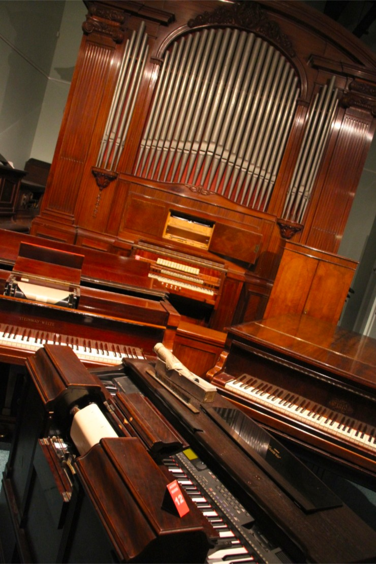 Instruments, Musical Museum, London, England