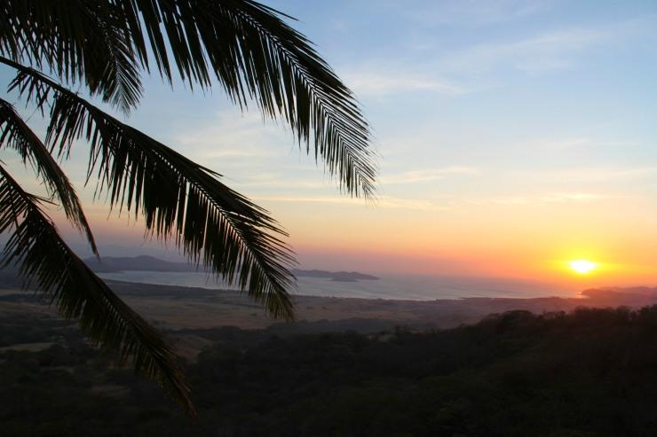 The Pacific Ocean from La Cruz, Costa Rica