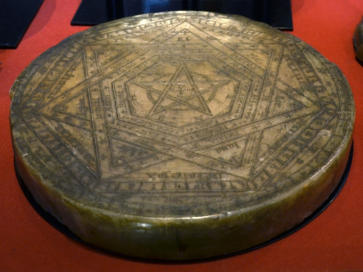 John Dee's 'Seal of God' in the British Museum © Vassil