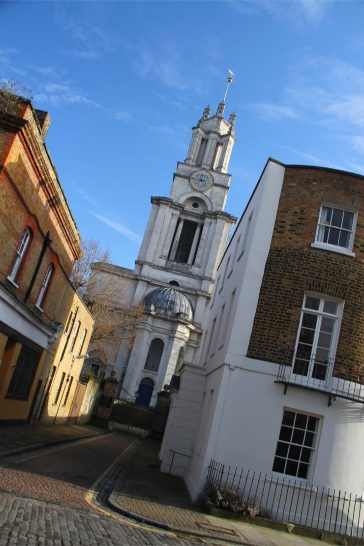 St. Anne's Church, Limehouse, London, England
