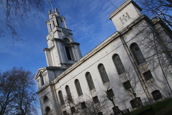 St. Anne's Church, Limehouse, London, England