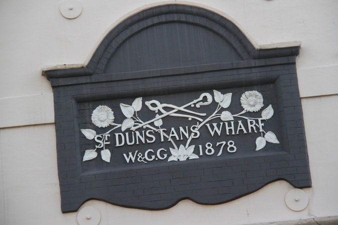 Dunstan's Wharf, Limehouse, London, England