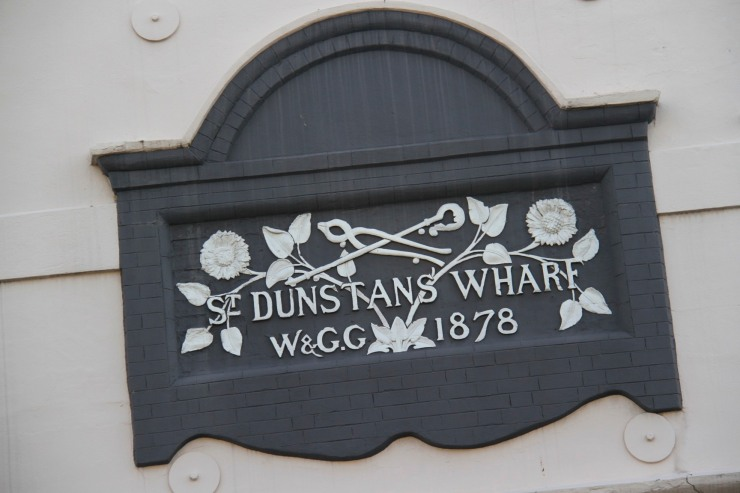 Dunstan's Wharf, Limehouse, London, England