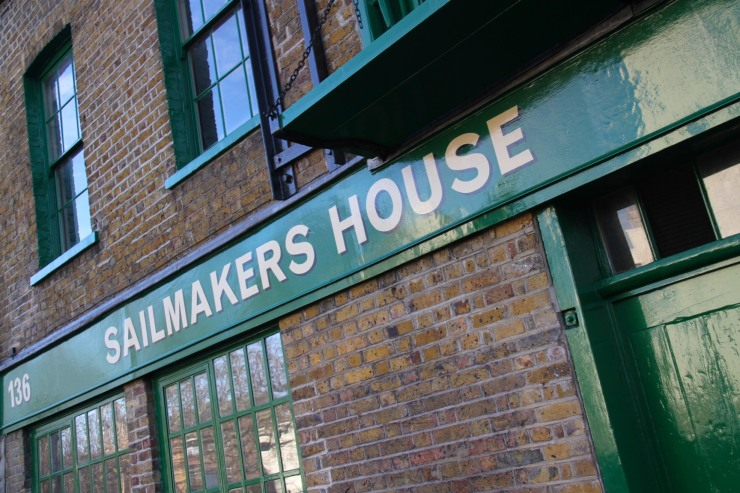 Sailmakers House, Limehouse, London, England