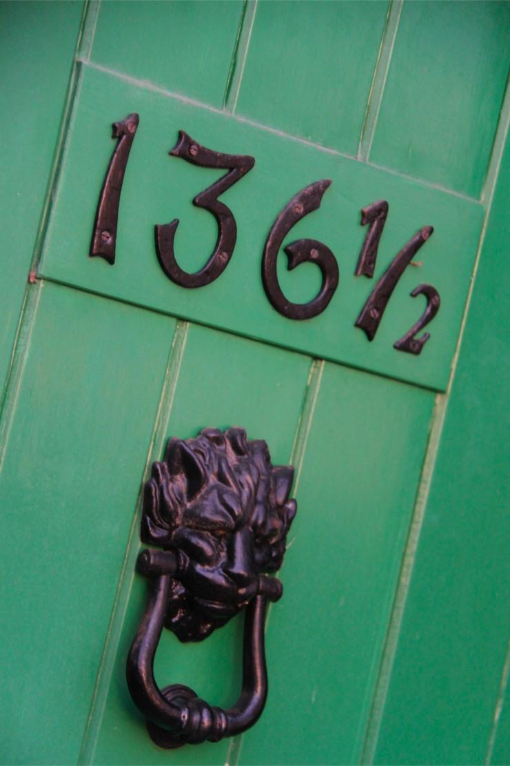 Doorway, Limehouse, London, England