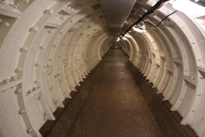 Greenwich Foot Tunnel, London, England