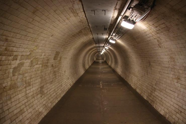 Greenwich Foot Tunnel, London, England