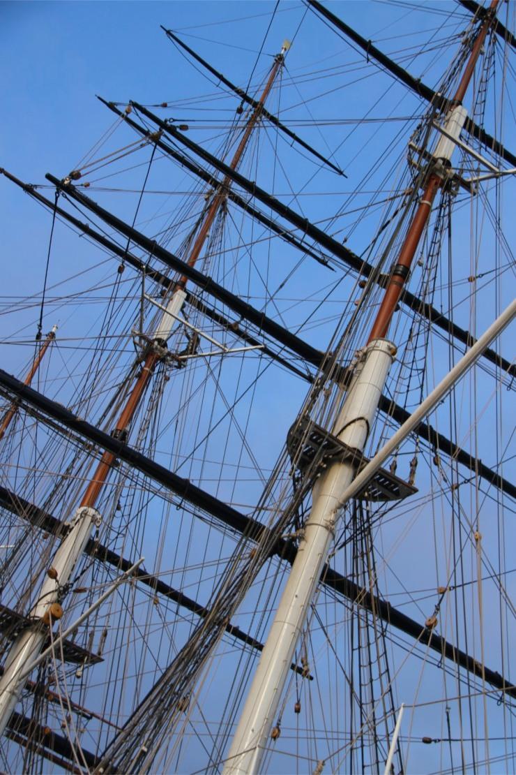 The Cutty Sark, Greenwich, London, England
