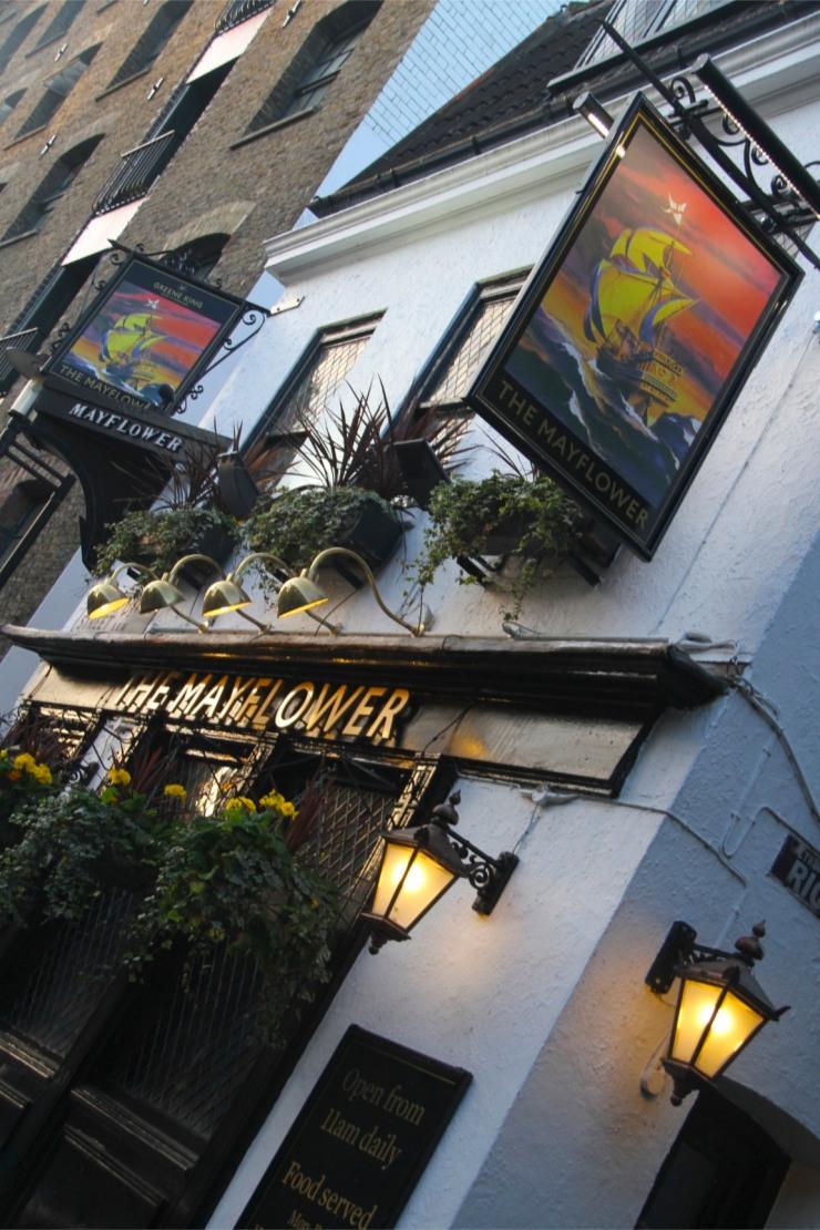 The Mayflower Pub, Rotherhithe, London, England