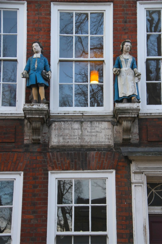 St. Mary Free School, Rotherhithe, London, England