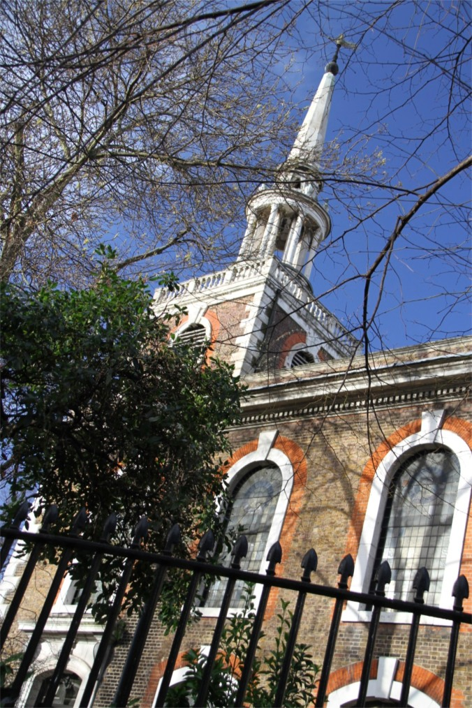 St. Mary's Church, Rotherhithe, London, England