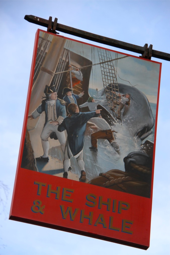 The Ship and Whale pub, Rotherhithe, London, England