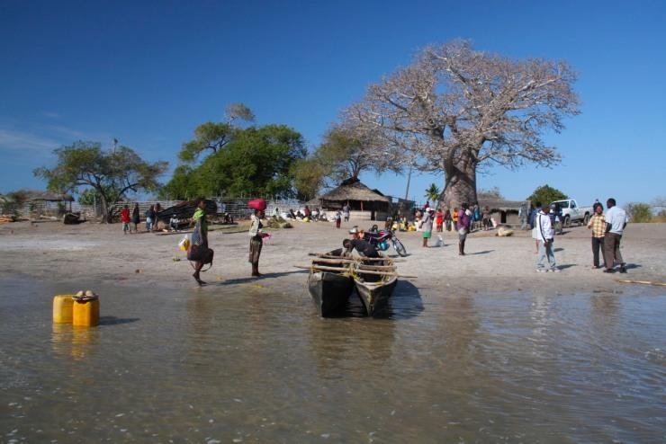 Small port near Pemba, Mozambique