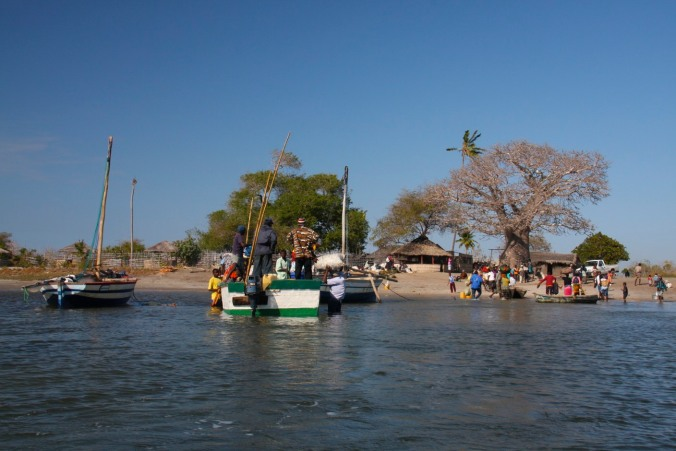 The port of Tandanhangue, Quirimbas Archipelago, Mozambique