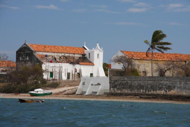 Portuguese colonial church, Ibo, Mozambique