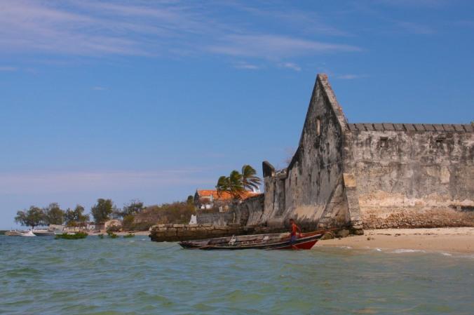 Portuguese colonial buildings, Ibo Island, Quirimbas Archipelago, Mozambique