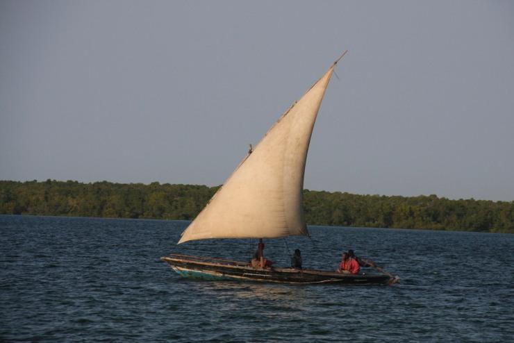Fishing dhow, Ibo Island, Quirimbas Archipelago, Mozambique