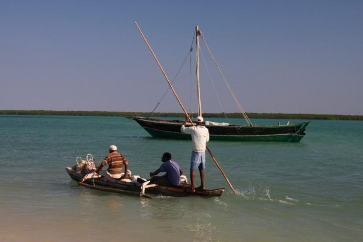 Boat, Quirimba Island, Quirimbas Archipelago, Mozambique, Africa