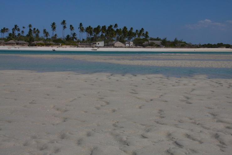 Quirimba Island walking back to Ibo, Quirimbas Archipelago, Mozambique, Africa