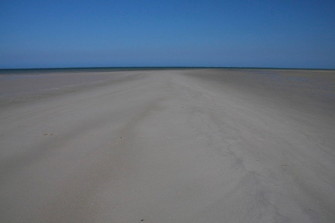 Its a long walk back to Ibo, Quirimbas Archipelago, Mozambique, Africa