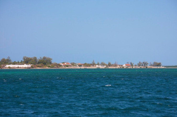 Fort of São João from the ocean, Ibo Island, Mozambique, Africa