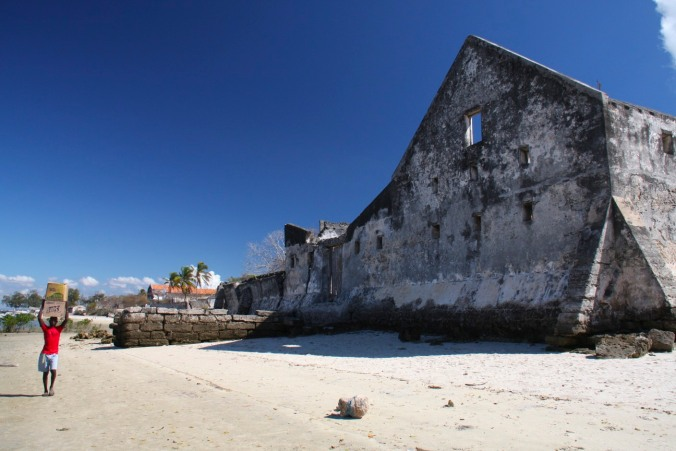 Portuguese colonial buildings, Ibo Island, Mozambique, Africa