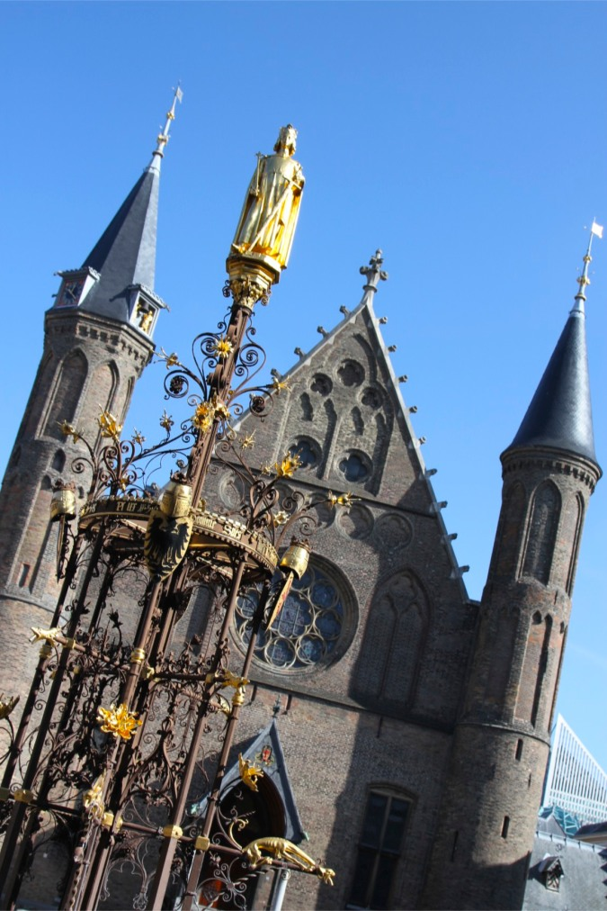 Church in the Binnenhof (government buildings), The Hague, Netherlands