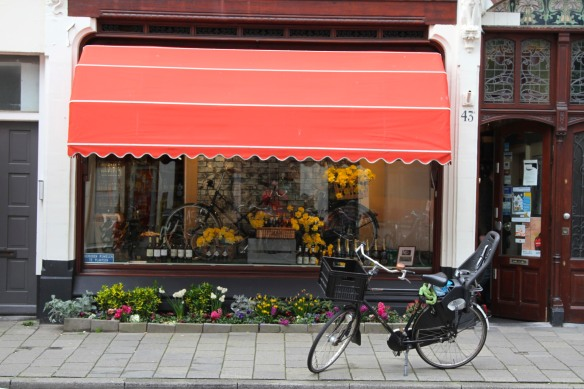 Shop in Zeehelden Kwartier, The Hague, Netherlands