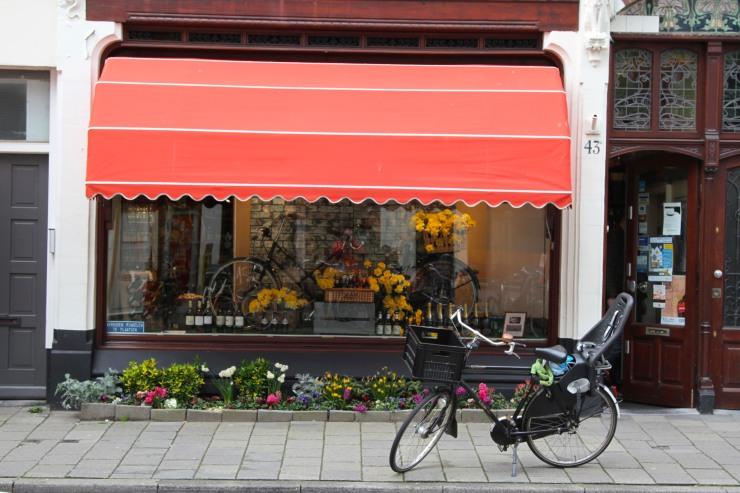Shop in Zeehelden Kwartier, The Hague, Netherlands