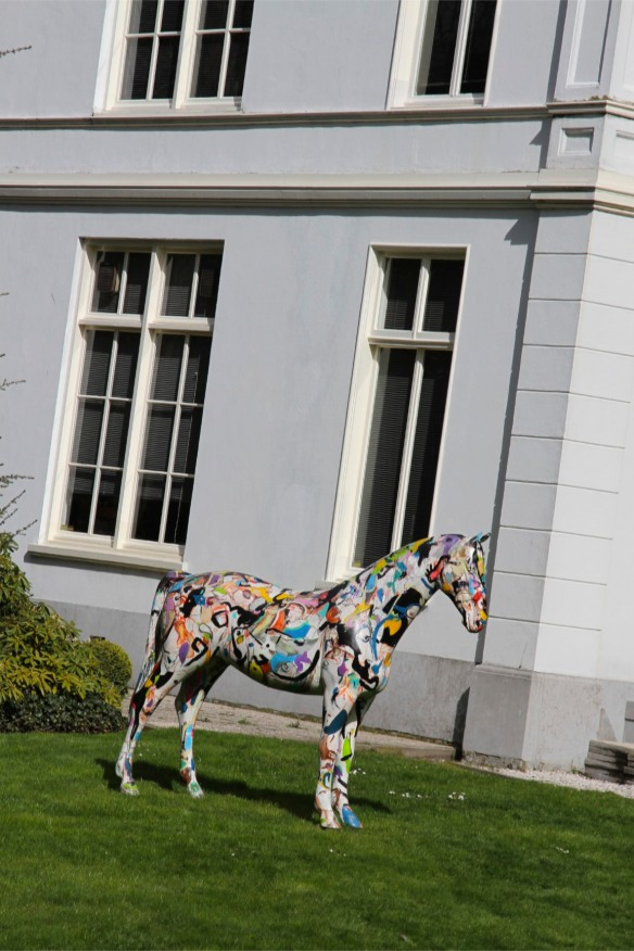 Horse statue, The Hague, Netherlands